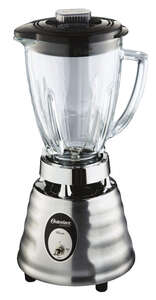 Oster  Duralast  Silver  Blender  Die-Cast  2 speed 48 oz.