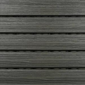 Aura 12 in  W x 12 in  L Driftwood Composite Balcony/Deck