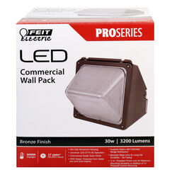 Feit Electric  30 watts 1 lights LED  Wall Pack