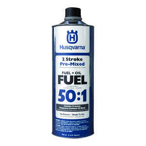 Husqvarna  50:1  2 Cycle Engine  Premixed Gas and Oil  1 qt.
