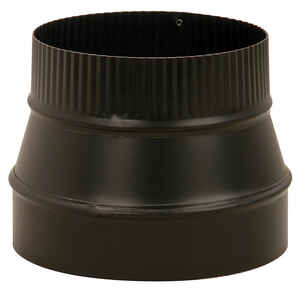 Imperial  7 in. Dia. x 6 in. Dia. Steel  Stove Pipe Reducer