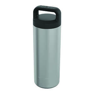 YETI  Rambler  Silver  Stainless Steel  Insulated Bottle  BPA Free 18 oz.