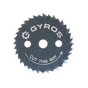 Gyros Tools  0.021 in. thick  7/8  Steel  Circular Power Saw Blades  1/8  36 teeth Ripsaw Blade  1 p