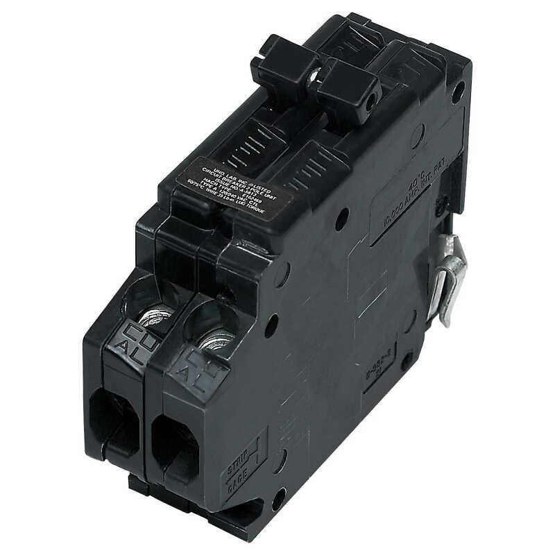 30 Amp 1 Pole Circuit Breaker Qphw1030 Black