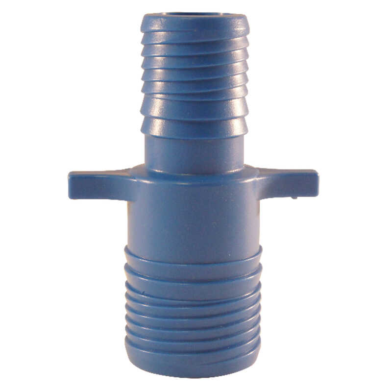 Blue Twisters  1-1/4 in. Insert   x 1 in. Dia. Insert  Polypropylene  For Pressure Applications Coup