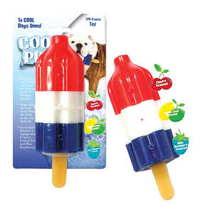 Cool Pup  TPR  Rocket Pop  Large  Dog Toy