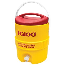 Igloo Water Cooler 2 gal. Red/Yellow