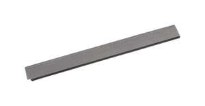 Amerimax  7.5 in. W x 36 in. L Galvanized Steel  Gutter Guard  Black