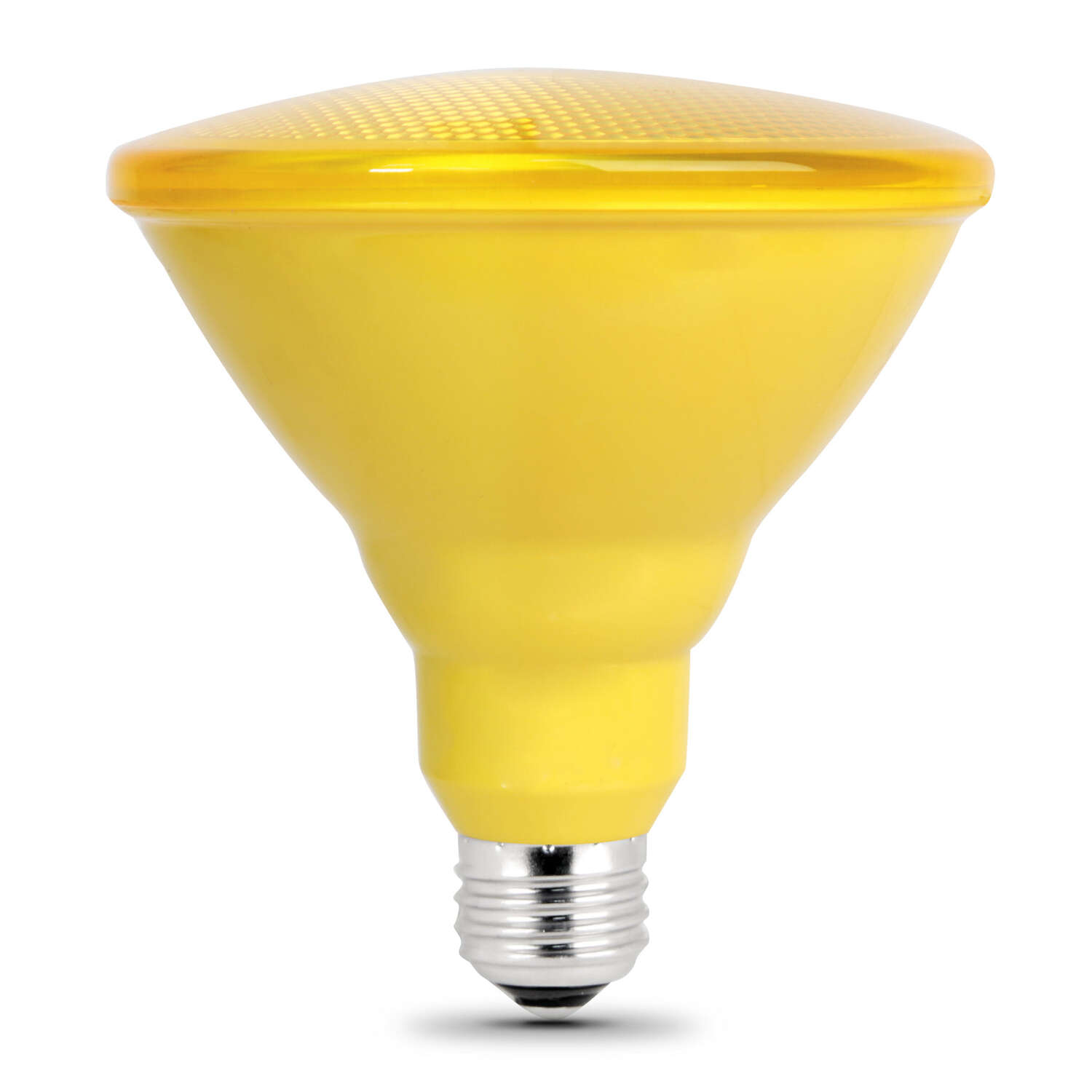 FEIT Electric  6.5 watts PAR38  LED Bulb  1000 lumens Yellow  90 Watt Equivalence Floodlight