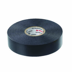 Scotch  3/4 in. W x 66 ft. L Black  Electrical Tape  Vinyl
