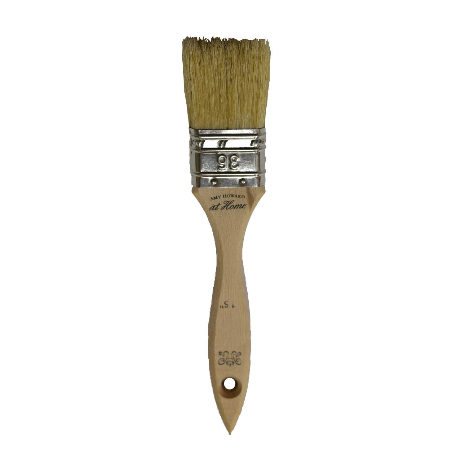 Amy Howard at Home  1-1/2 in. W Flat  China Bristle  Paint Brush