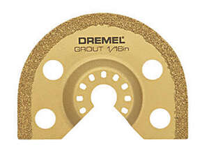 Dremel  Multi-Max  2.7 in   x 1/16 in. L Grout Removal Blade  Steel  1 pk