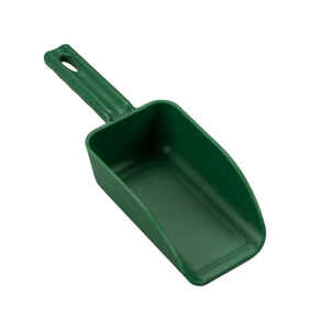 Poly Pro Tools  Plastic  Green  16 oz. Hand Scoop