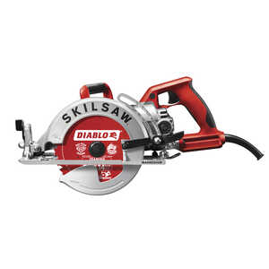 SKILSAW  Diablo  7-1/4 in. 15 amps Worm Drive Mag Saw  120 volts 5300 rpm