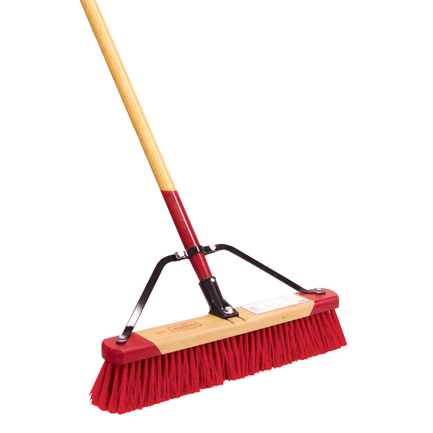 Harper  Push Broom  18 in. W x 60 in. L Synthetic