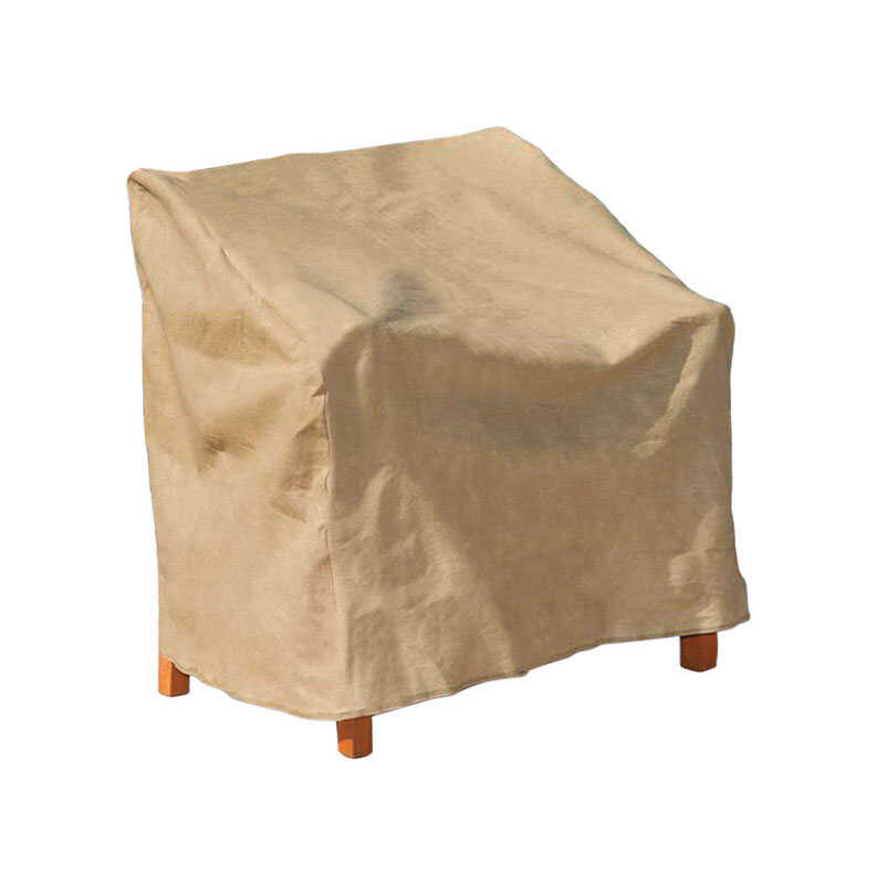 Budge  39 in. H x 37 in. W x 41 in. L Tan  Polypropylene  Outdoor Chair Cover