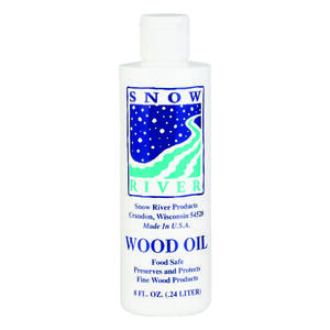Snow River  Wood Oil  8 oz.