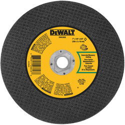 DeWalt  High Performance  7 in. Dia. x 5/8 in.  Aluminum Oxide  Masonry Cutting Saw Blade  1 pc.