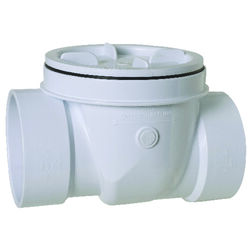 Sioux Chief  ProCheck  4 in. Dia. x 4 in. Dia. PVC  Swing  Valve