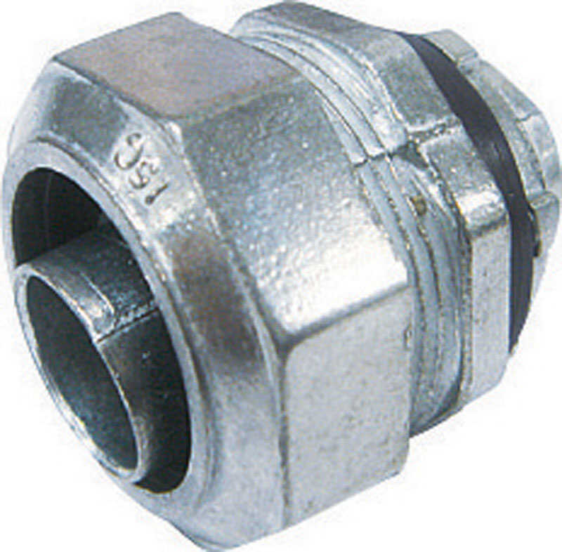 Sigma  3/4 in. Dia. Zinc  Electrical Conduit Connector