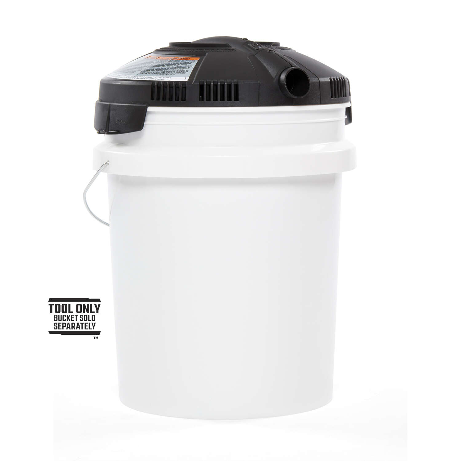 Craftsman  12.5  L x 12.5 in. W x 12.5 in. Dia. Wet/Dry Vac Powerhead  1 pc.