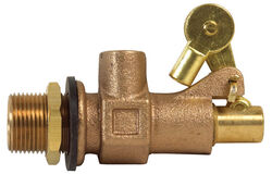 BK Products  3/4 in. Dia. Bronze  Float Valve