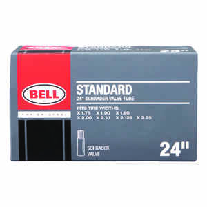 Bell Sports  Standard  24 in. Rubber  Bike Tube  1 pk