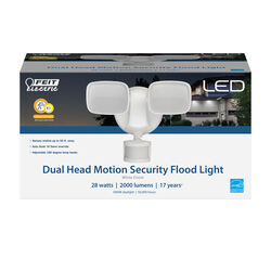 Feit Electric Motion-Sensing Hardwired LED White Security Floodlight