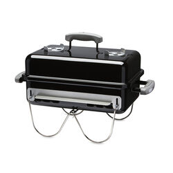 Weber  Go Anywhere  Charcoal  Grill  Black