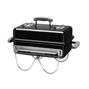 Weber  Go Anywhere  Charcoal  Portable  Grill  Black  21 in.