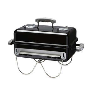 Weber  Go Anywhere  Black  Charcoal  Portable Grill