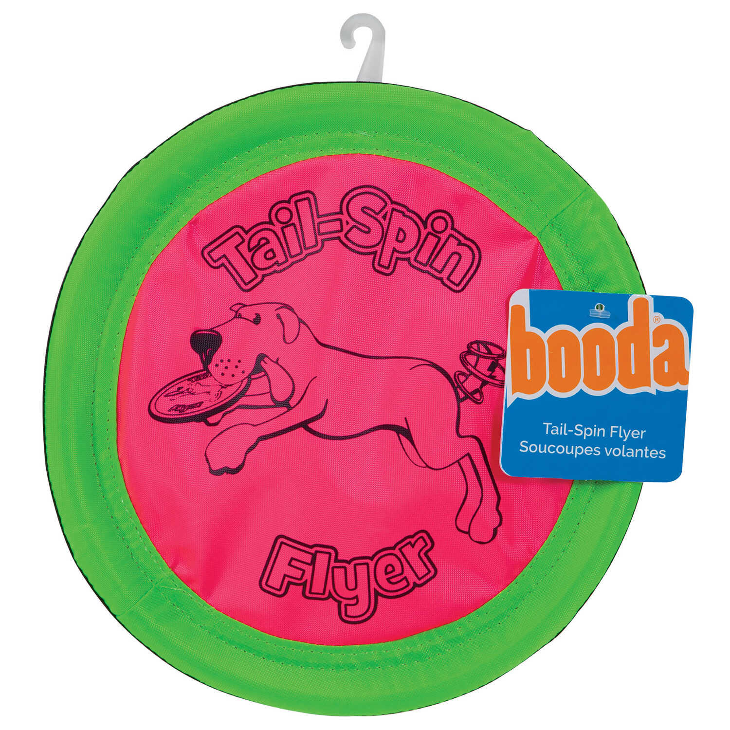 Booda  Multicolored  Flying Disc  Fabric  Dog Toy