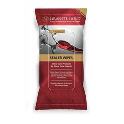 Granite Gold  Commercial and Residential  Penetrating  Sealer Wipes  6 pk