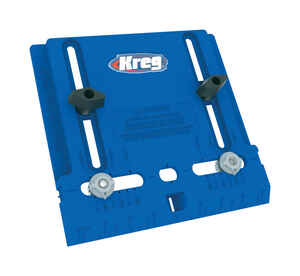 Kreg Tool  Nylon  Cabinet Hardware Jig  Blue  1 pc.