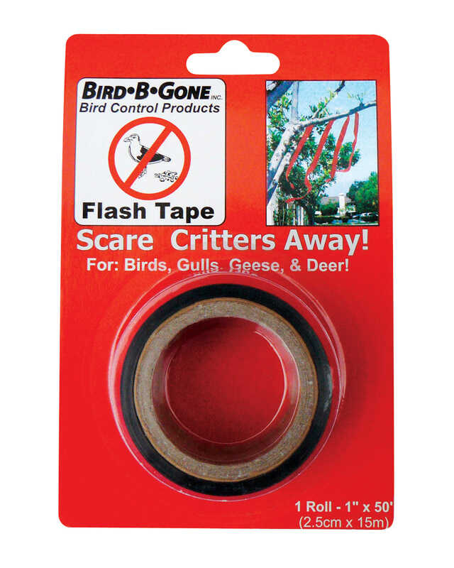Bird-B-Gone  Mylar Flash Tape  For Assorted Species