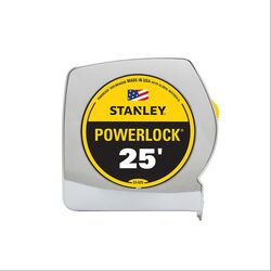 Stanley PowerLock 25 ft. L x 1 in. W Tape Measure 1 pk
