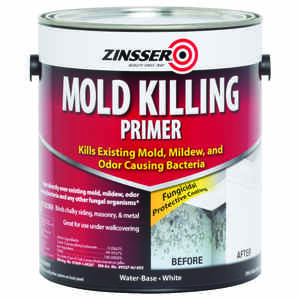 Zinsser  White  Mold Killing Primer  1 gal.