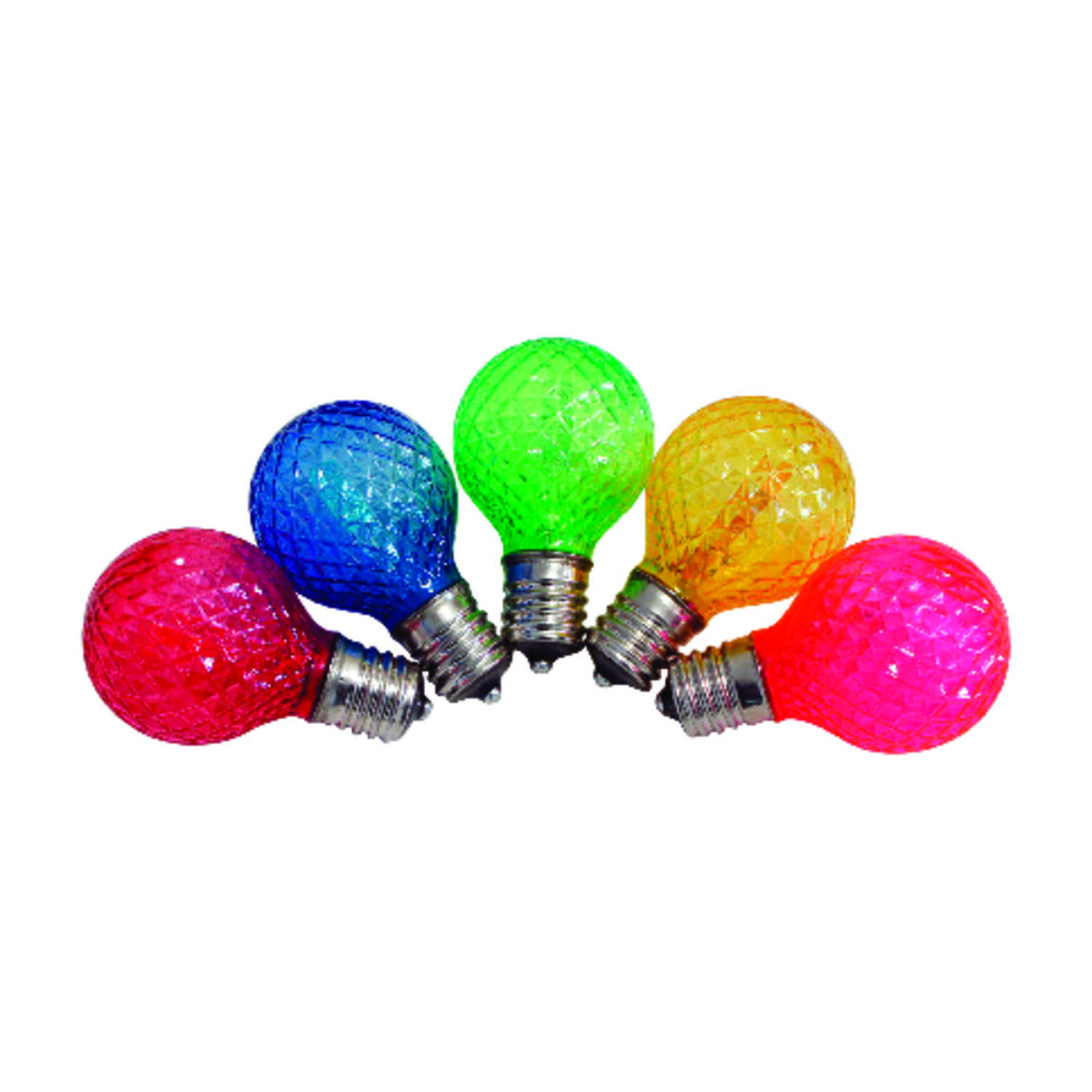 Celebrations  G40  LED  Replacement Bulb  Multicolored  25 lights