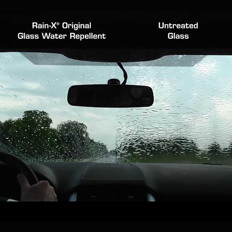 Rain-X Original Glass Cleaner/Rain Repellent Liquid 7 oz