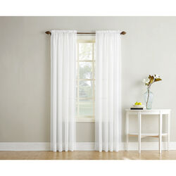 No. 918 Reno White Curtains 102 in. W x 84 in. L