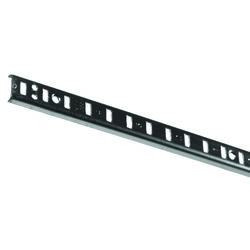 Knape & Vogt  Steel  Heavy Duty Shelf  Pilaster  N/A Ga. 72 in. L 250 lb.
