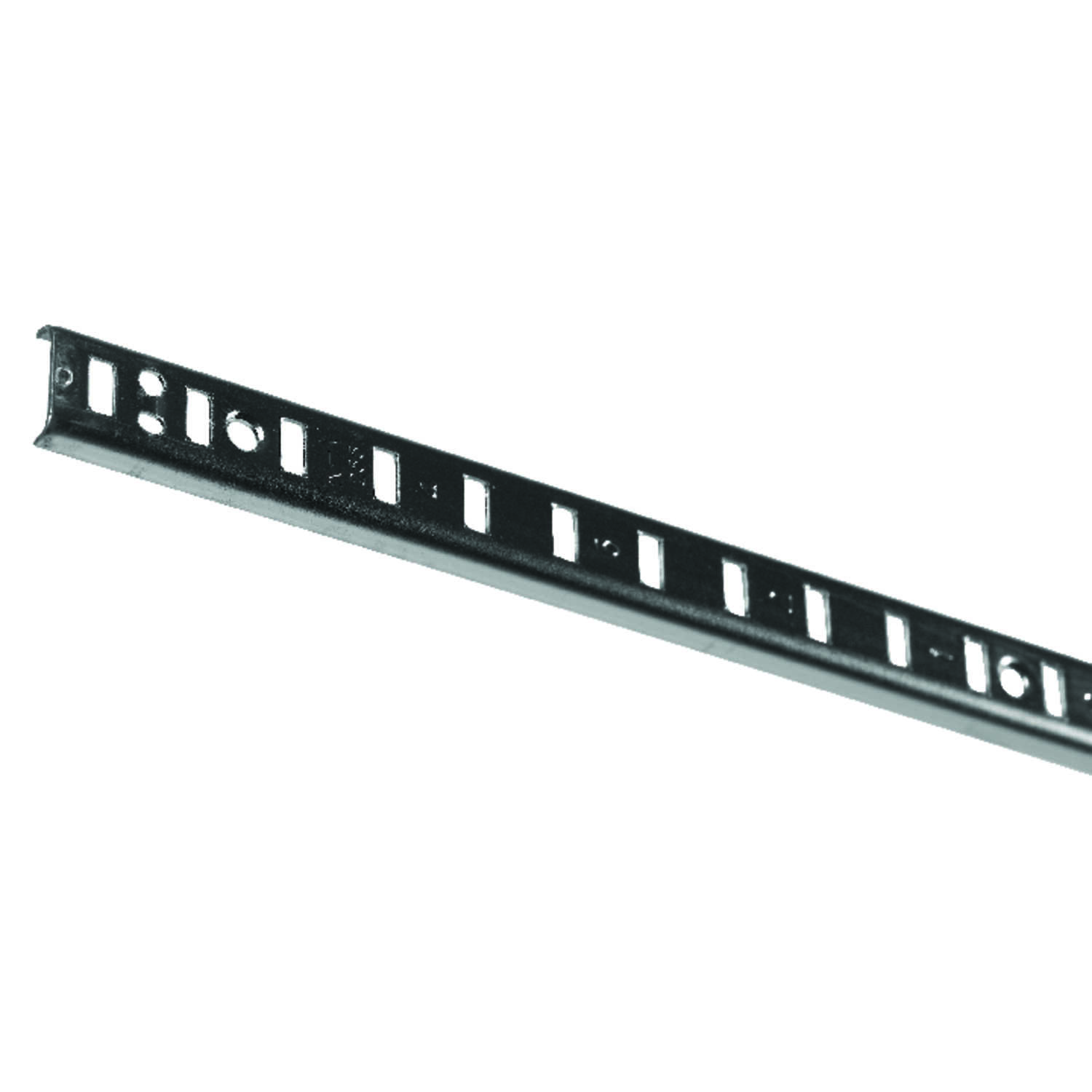 Knape & Vogt  Steel  Heavy Duty Shelf  Pilaster  0.25 in. H x 72 in. L 250 lb.