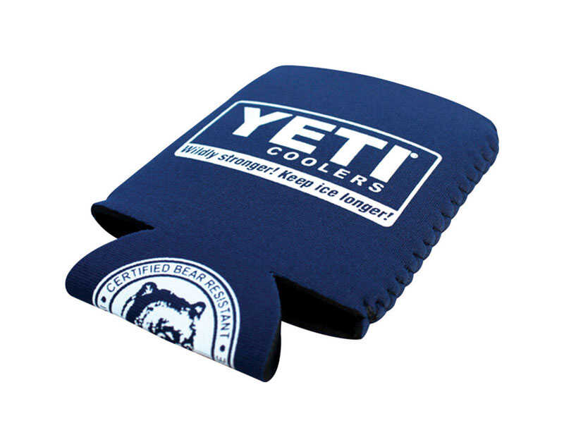 YETI  Beverage Koozie  Blue  1 each