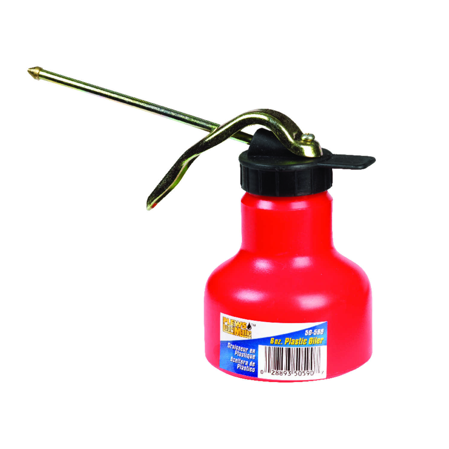 Plews  6 oz. Rigid Spout  Oil Can