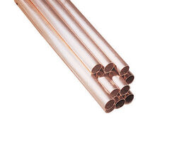 Mueller  1/2 in. Dia. x 4 ft. L Type M  Copper Water Tube