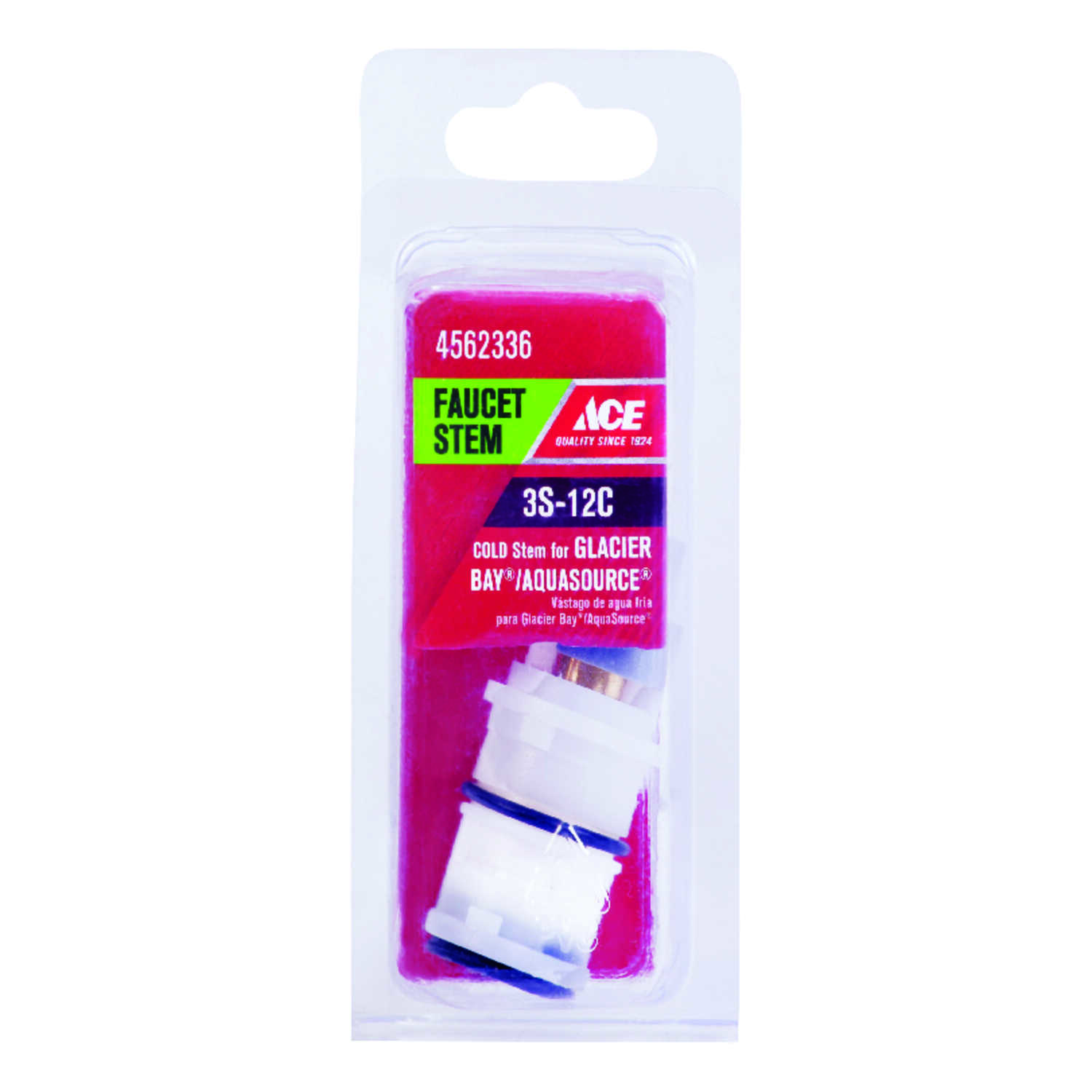Ace  Cold  3S-12C  Faucet Stem  For Glacier Bay & Aquasource