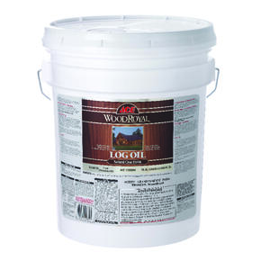 Ace  Wood Royal  Gloss  Clear  Oil-Based  Log Oil  5 gal.