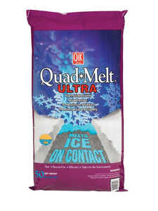 Quad Melt  Blended  Ice Melt  50 lb.