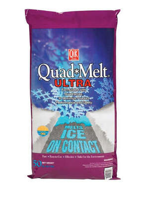 Qik Joe  Quad Melt  Blended  Ice Melt  50 lb. Granule