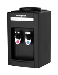 Honeywell  5 gal. Black  Table Top Water Cooler Dispenser  Plastic